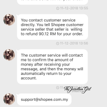 Shopee - Unethical Seller