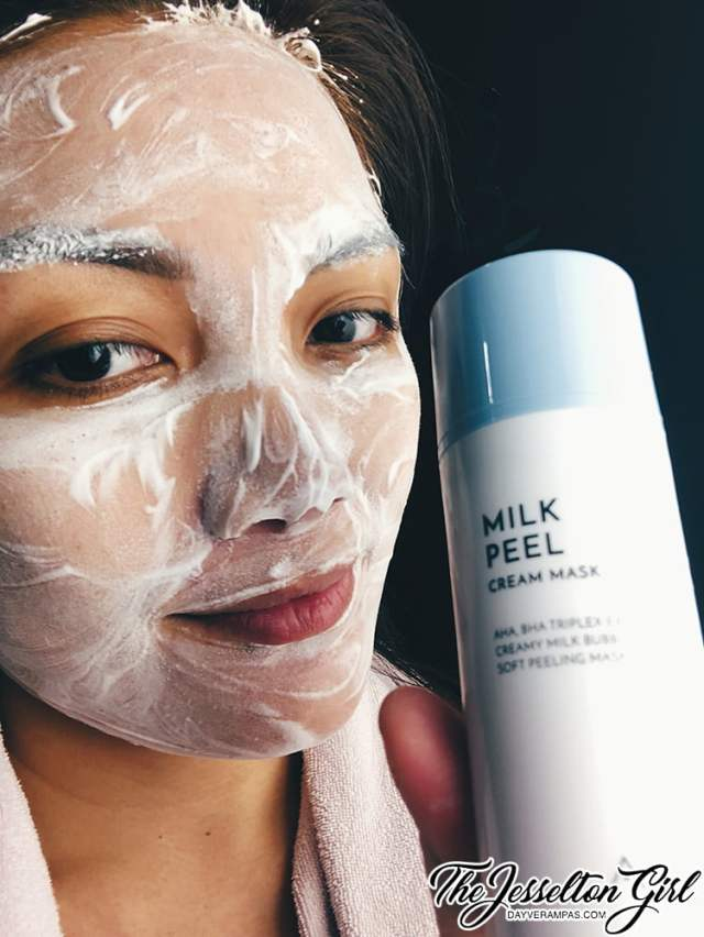 Beauty: Give a Big Gulp of Hydration with Althea's Milk Peel Cream Mask, The Jesselton Girl