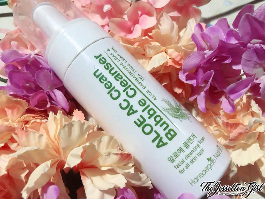 Hansaegee Nature Aloe AC Clean Bubble Cleanser