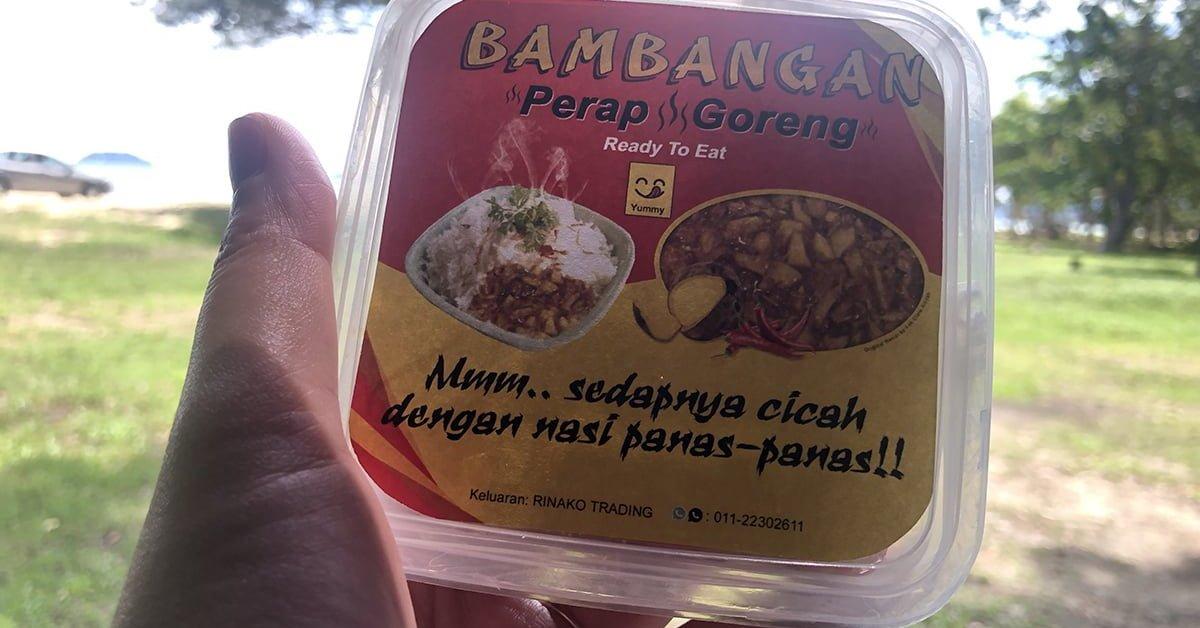 Local: Bambangan Perap Goreng (Rinako Trading)