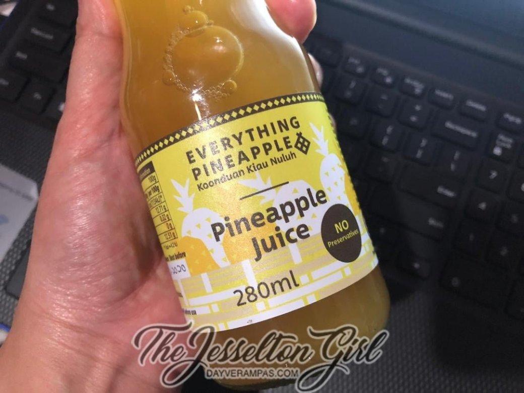 Koonduan Kiau Nuluh's Everything Pineapple - Pineapple Juice