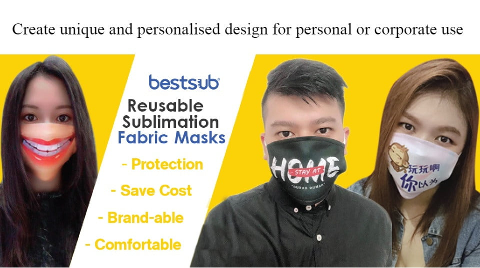 Dayve's Tips: BestSubs Reusable Personalized Fashion Mask