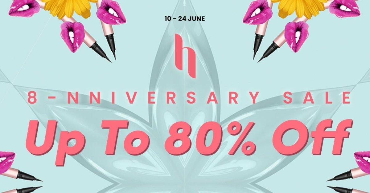 Event: HERMO 612 Anniversary Sale – Cheers To Eight Years!