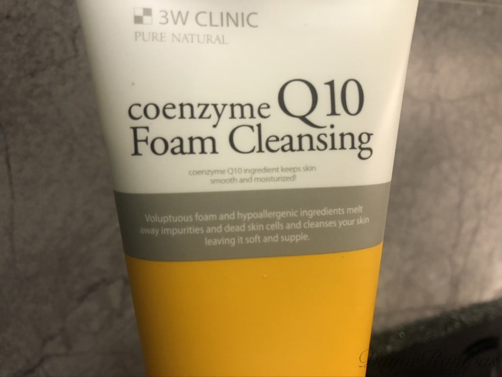 3W Clinic Coenzyme Q10 Foam Cleansing
