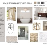 Design Concept for Art Deco Bathroom Renovation