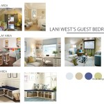 Multi tasking Whimsical Guestroom Mood Board