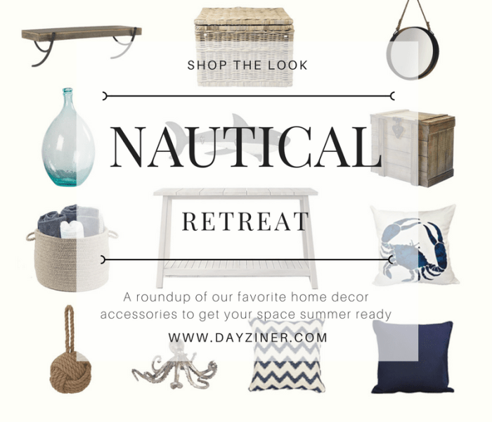 Shop The Look: Relaxed Nautical Retreat