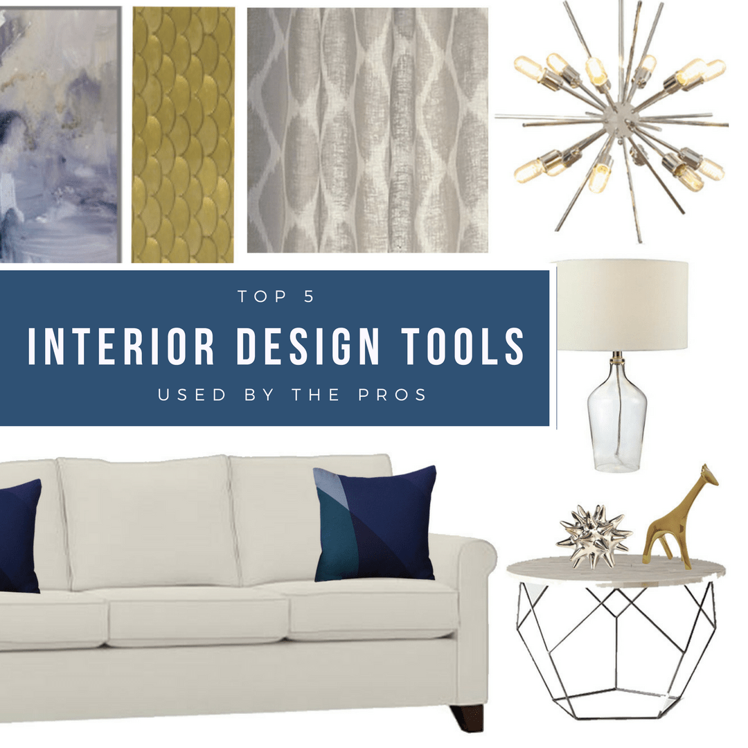 Top 5 Interior Design Tools Used By The Pros