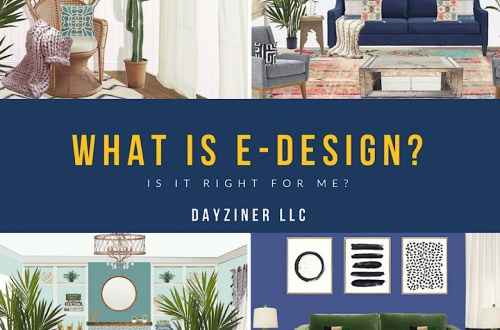What is E-Design