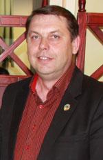 Игорь Берг, председатель Общества немцев «Видергебурт» города Астаны и Акмолинской области.