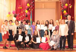 Вручение DSD-дипломов выпускникам 68 школы.