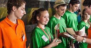 По итогам конкурса ребята из Казахстана заняли II и III место в командном зачёте.
