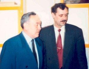 Визит Н.А.Назарбаева в Немецкий дом г.Алматы.