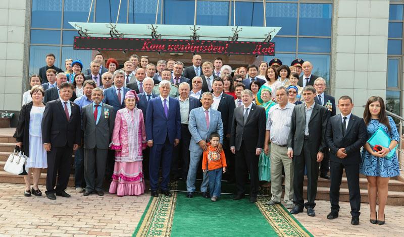 Визит Президента Республики Татарстан Рустама Минниханова в Алматинскую область