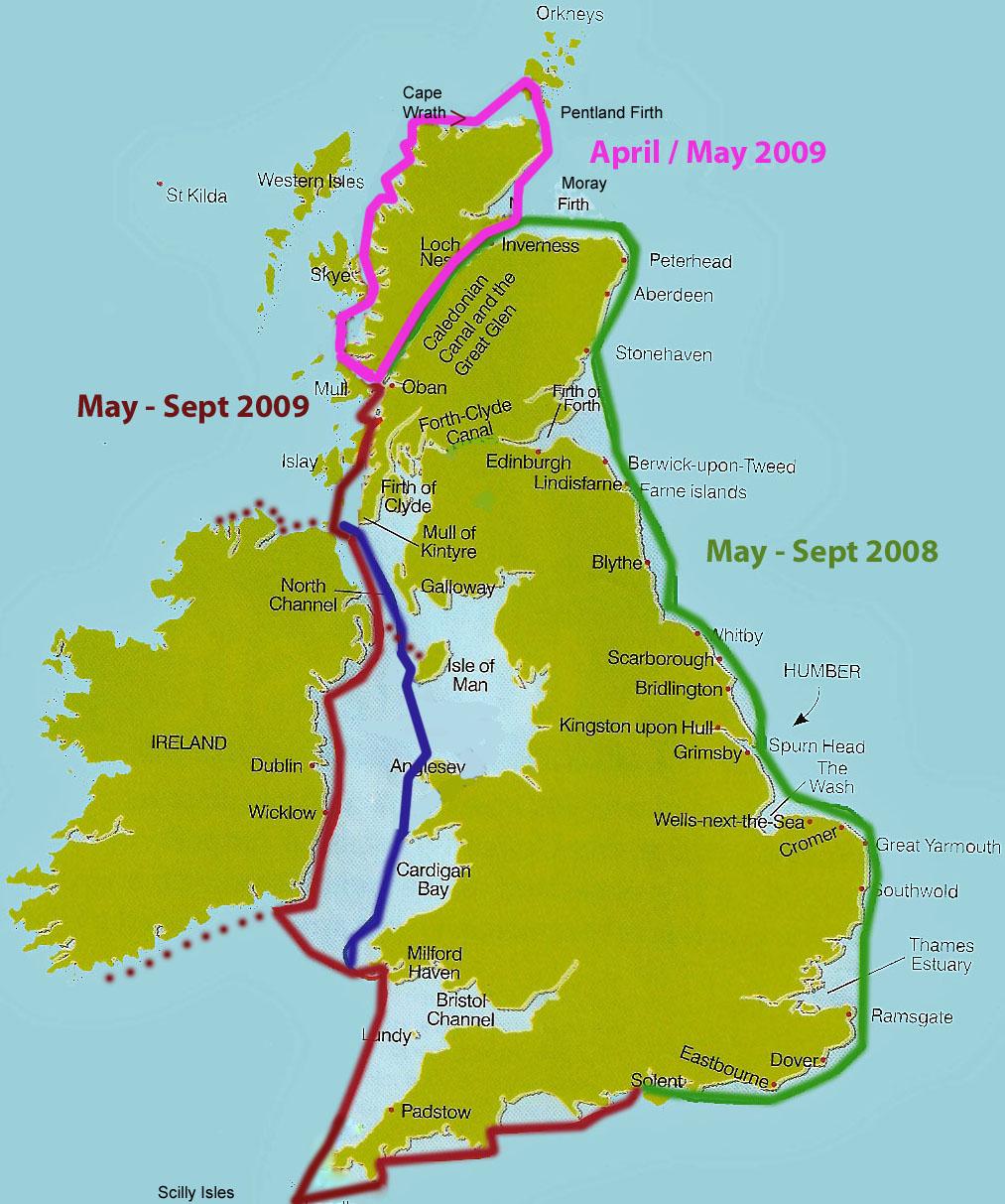 Passage Plan 2008 - 2009