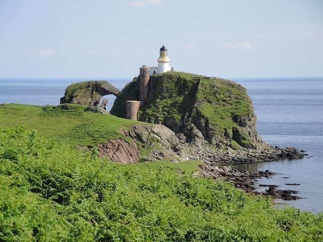 Lighthouse on Sanda Island
