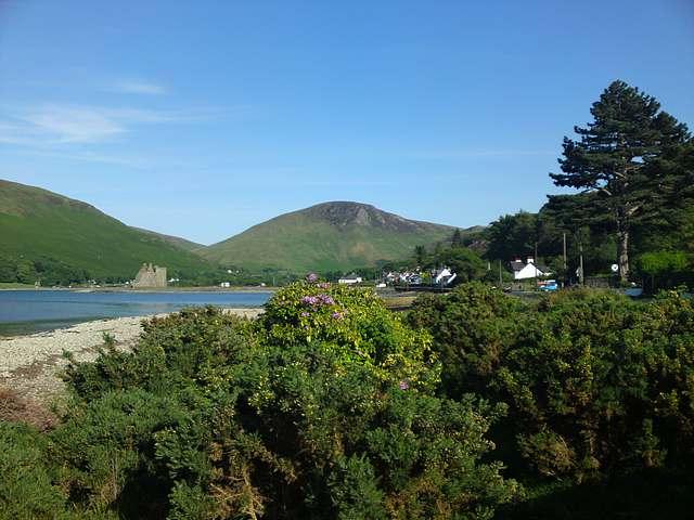 Loch Ranza and Castle, Arran.