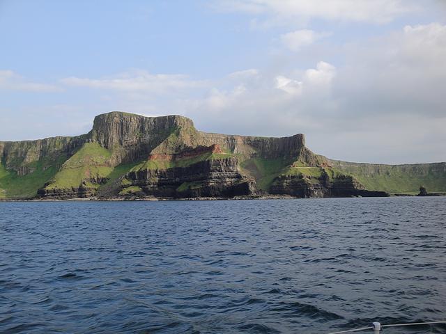 Northern Island coastline.