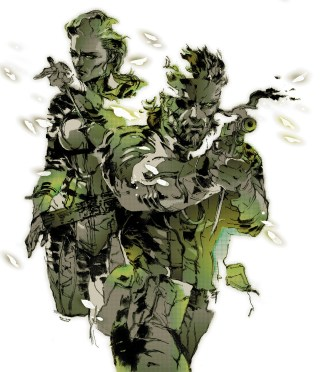 """""""The Boss & Naked Snake"""" from Metal Gear Solid 3"""