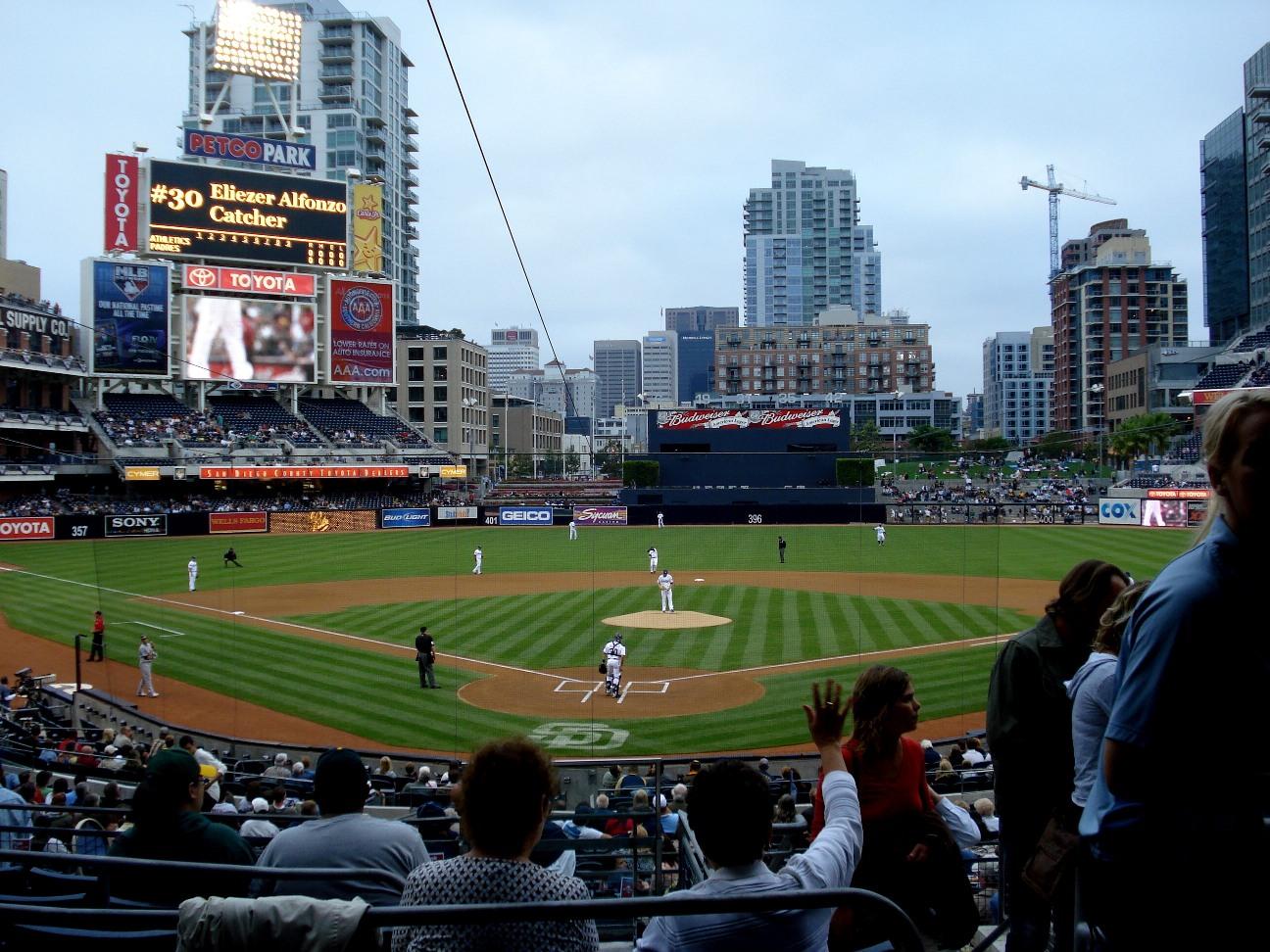 Let's Go Oakland! @ Petco Park