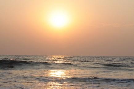 Sunrise at Arombol Beach