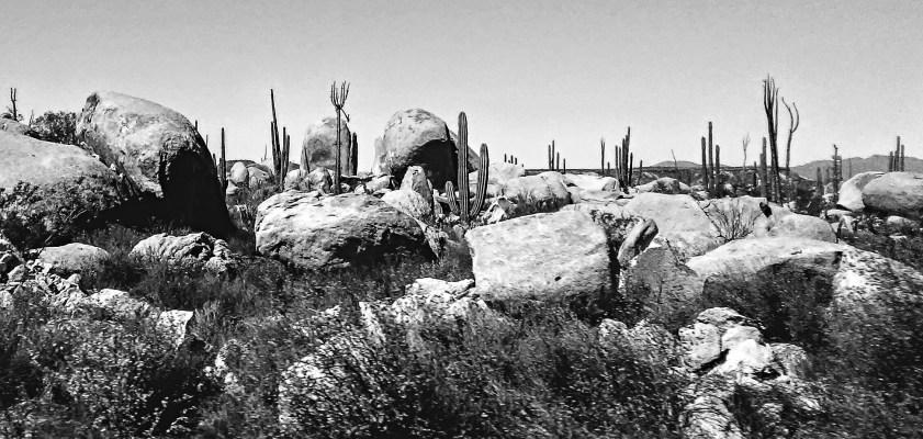 Border to La Paz Rocks #5