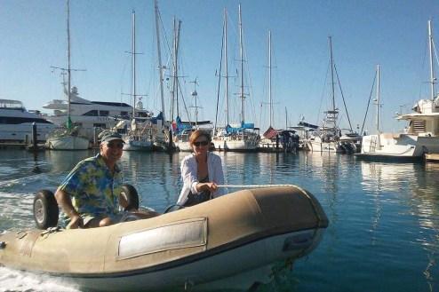 DAn & Nancy from SV Karvi