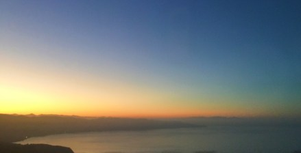 Coming into Ensenada at sunrise.