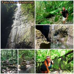The Fatu Hiva Waterfall