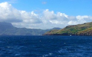 That Hiva Oa in the background.