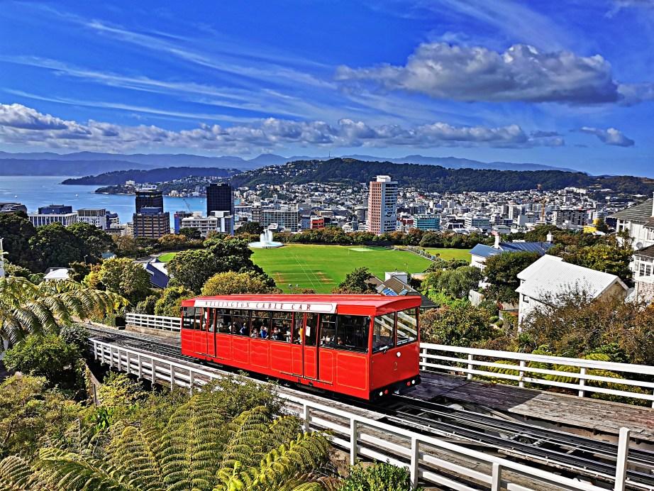 Windy Wellington Cable Car