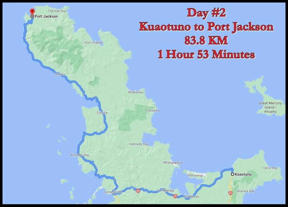 Port Jackson Map