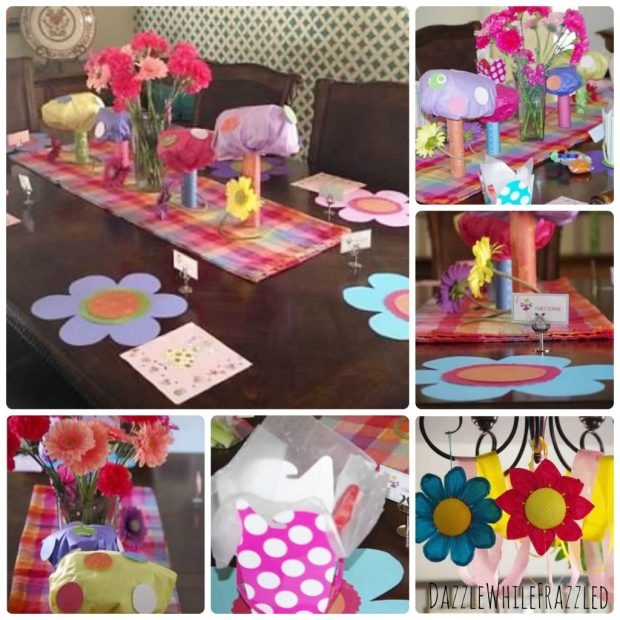 Create a fairy garden theme birthday party