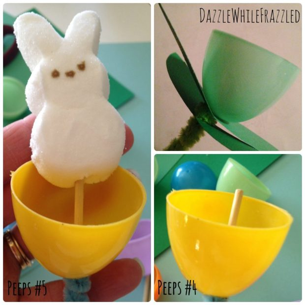 How to make a 10 minute Peeps Easter centerpiece