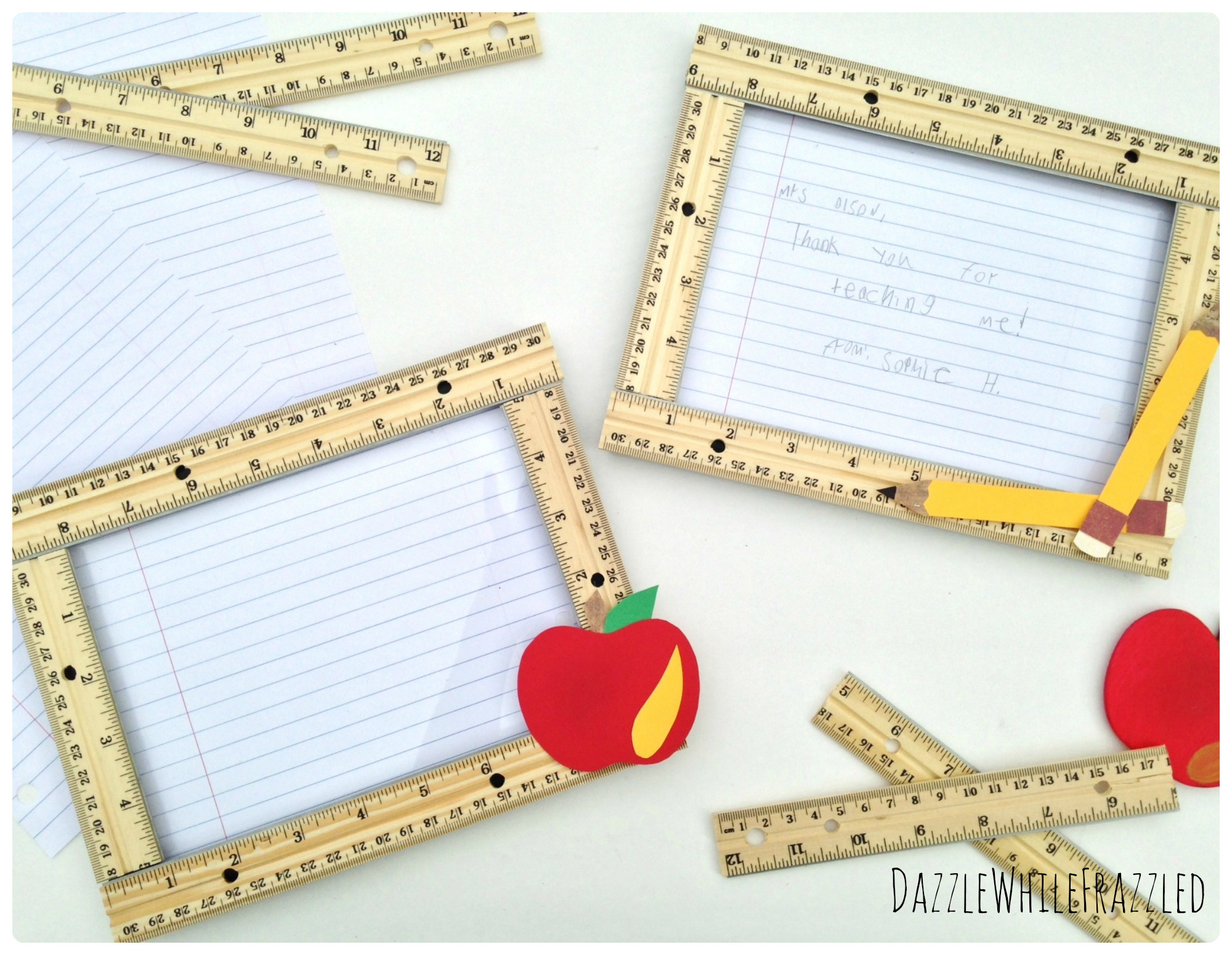 DIY Teacher Appreciation Gift | DazzleWhileFrazzled.com