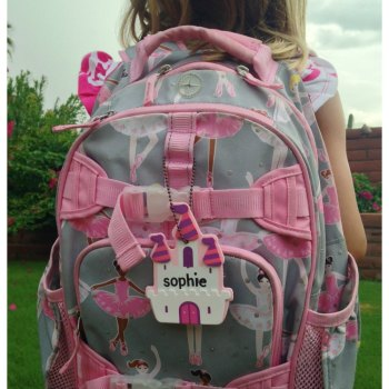 DIY 5 Minute Back to School Backpack Tag