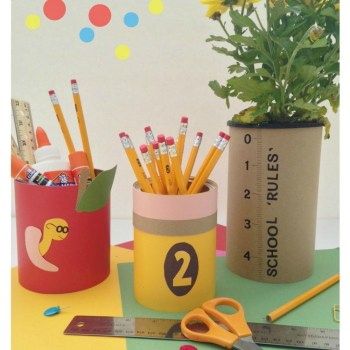 Back to School Teacher Gifts using Tin Cans.