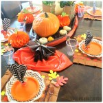 Make an Easy Clean Thanksgiving Table