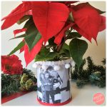 How to Make a DIY Holiday Photo Tin Can Vase