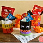 How to Make DIY Halloween Tin Can Treat Holders