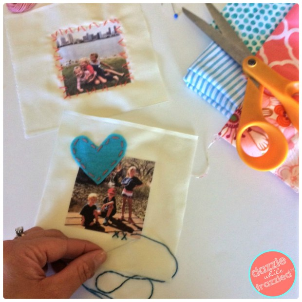 DIY handmade photo sachets for closets and drawers | DazzleWhileFrazzled.com