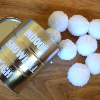 10 insanely fun games for family Indoor Snowball Fight Game
