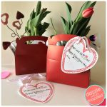 Make a 5-Minute Valentine's Day Flower Gift + Printable Card