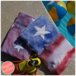 How to Make Fun Graffiti Beach Towels with the Kids