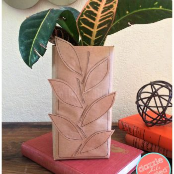 How to make cheap fall home decor and decorate with leaves this autumn.