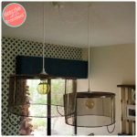 How to Make Metal Baskets into Easy Hanging Light Fixtures