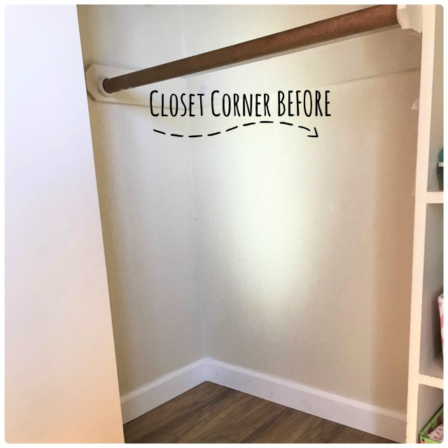 Clean out a corner of a closet to make a cute cozy DIY kids reading nook.
