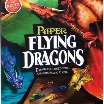 Learn all about dragons while building your own paper dragon models.