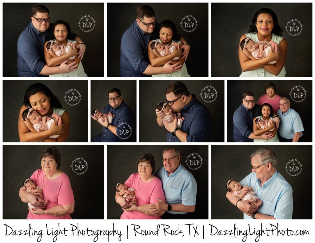 Round Rock Newborn Photographer Dazzling Light Photography