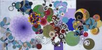 Beatriz Milhazes, Beleza Pura, 2006; Courtesy Galerie Max Hetzler, Berlin